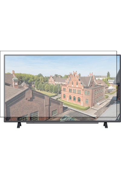 "Grundig 43 "" 107/108 Ekran Evrensel Universal Televizyon Ekran Koruyucu"