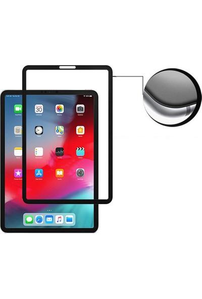 Aktif Aksesuar iPad Pro 2018 11 Inç 10D Tam Kaplayan Temperli Cam Ekran Koruyucu
