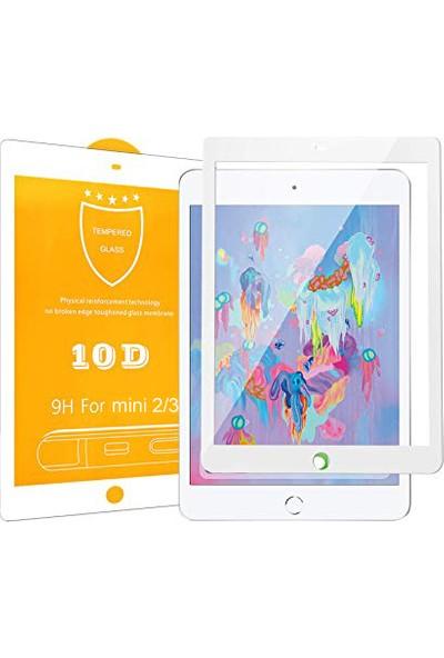 Aktif Aksesuar iPad Mini 1/2/3 10D Tam Kaplayan Temperli Cam Ekran Koruyucu