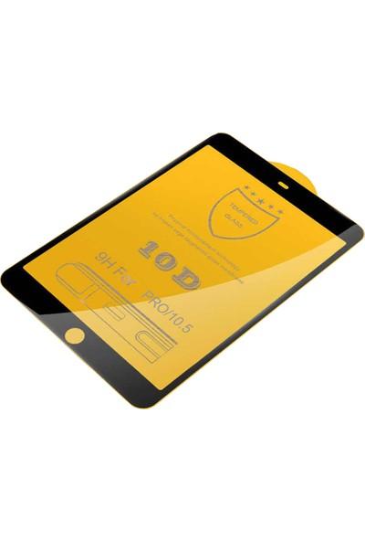 Aktif Aksesuar iPad Pro 10.5 Inç 10D Tam Kaplayan Temperli Cam Ekran Koruyucu