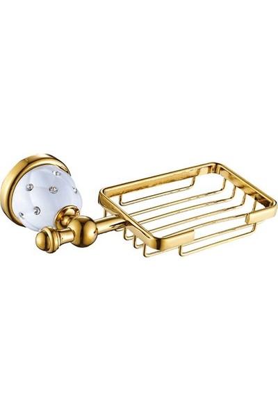 Acar Elegant Gold Sabunluk Altın Renkli