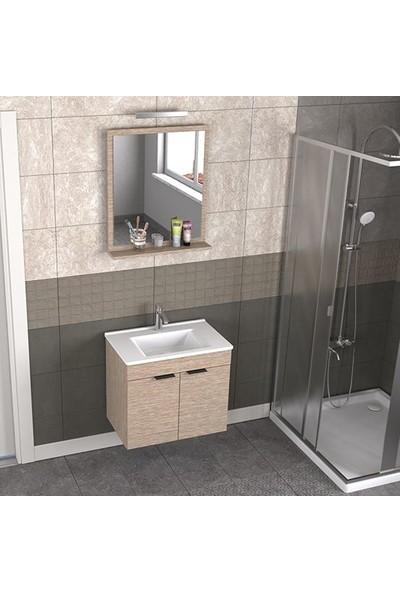 Biani Fix Arya 65 cm Banyo Dolabı Renk Aybe Bej