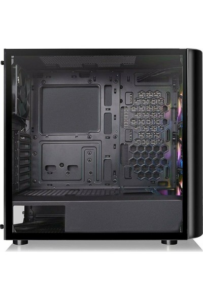Thermaltake Vi̇ew 23 Tempered Glass ARGB 3x120mm Fanlı Mi̇dTower Bilgisayar Kasası CA-1M8-00M1WN-00
