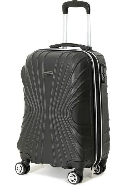 Travel Soft U Kmr 6121-K Siyah Unisex Küçük Valiz