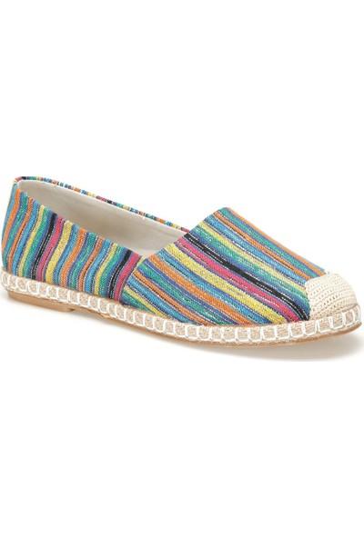 Butigo Okocha98Z Çok Renkli Kadın Espadril Ayakkabı