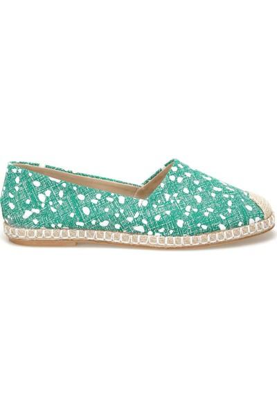 Butigo Miros59Z Yeşil Kadın Espadril Ayakkabı