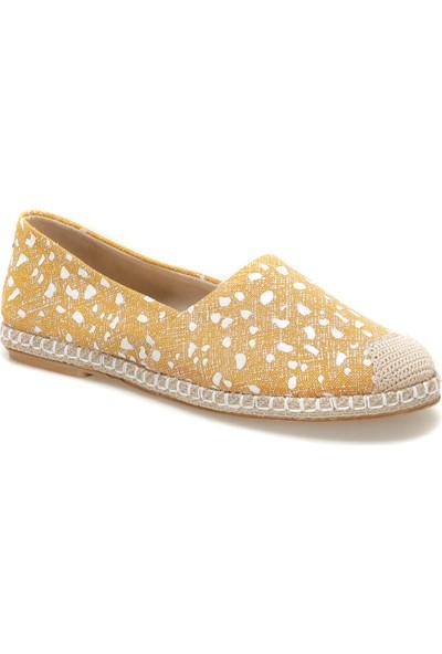 Butigo Miros51Z Sarı Kadın Espadril Ayakkabı