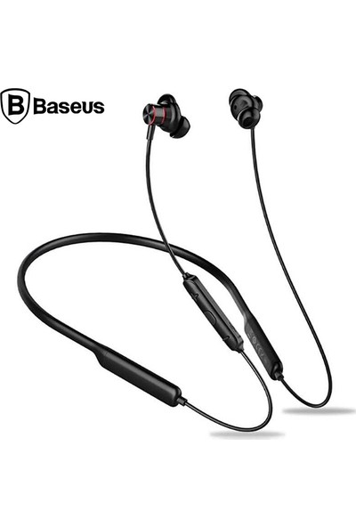 Baseus Encok S12 BT 5.0 Su Geçirmez Boyunluk Bluetooth Kulaklık
