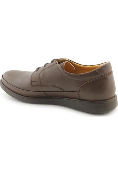 Meros 303 Deri İç Dış Anatomik Erkek Ayakkabı