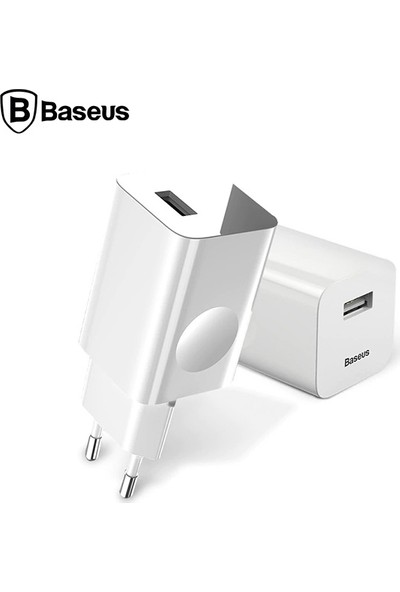 Baseus CCALL-BX02 3.0A Hızlı Şarj Aleti Şarj Başlık Adaptör
