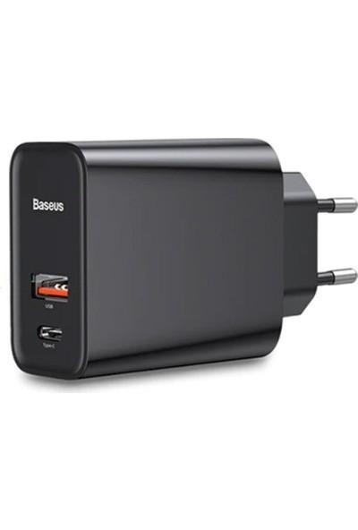 Baseus Pps 30W Hızlı Şarj Başlığı CCFS-C01 Siyah