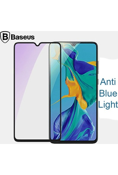 Baseus Huawei P30 Anti Blue Light 3D Full Kaplayan Cam Ekran Koruyucu