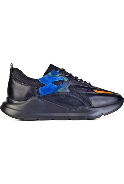 Cabani Sneaker Ayakkabı Yeşil Nubuk