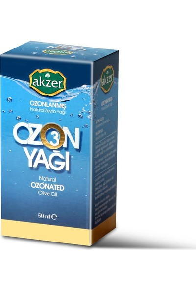 Akzer Soğuk Press Ozonlu Zeyti̇n Yağ 50 ml