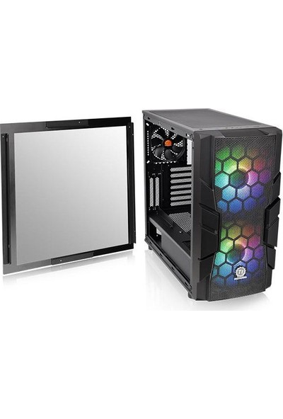 Thermaltake Commander C33 Tempered Glass Argb 2x20cm Fanlı Oyuncu Kasası CA-1N4-00M1WN-00