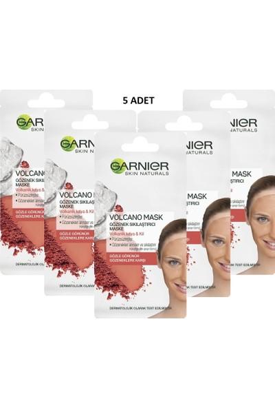 Garnier Skin Naturals Gözenek Sıkılaştırıcı Maske 8 ml 5'li Set