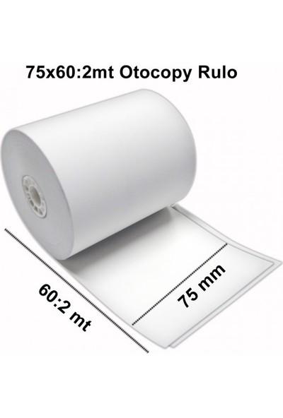 Tekno 75X20 2 Nüsha Otocopi̇Li̇ Rulo ( 10'Lu )