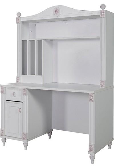 Yıldız Mobilya White Romantic Çalışma Masası