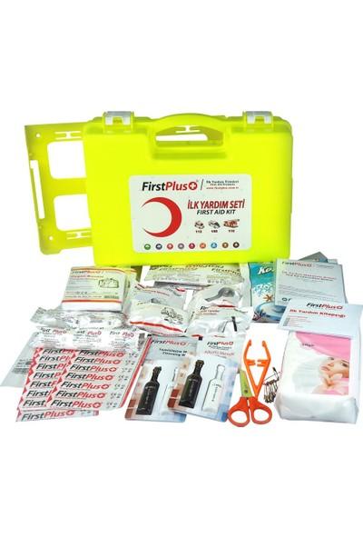 Firstplus First Plus Yönetmeliğe Uygun Full İlk Yardım Çantası