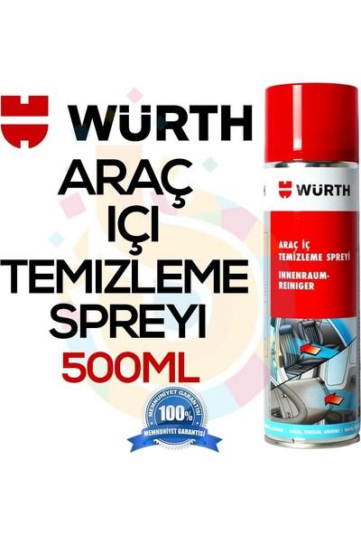 Würth Araç İçi Temizleme Ve Köpük Temizlik Spreyi 500 ml