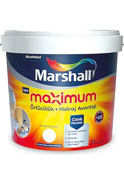 Marshall Maximum Silikonlu İpek Mat Duvar Boyası 7.5 lt 10 kg