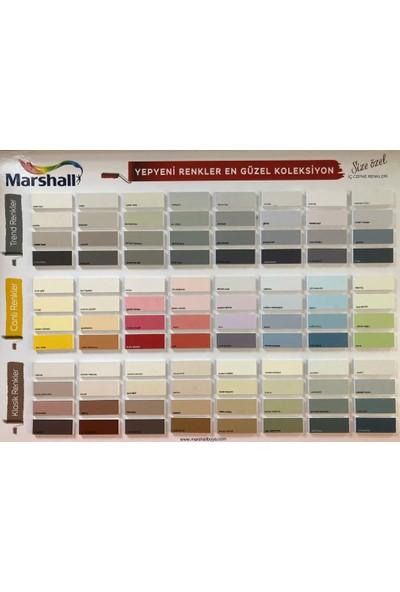 Marshall Maximum Silikonlu İpek Mat Duvar Boyası 2.5 lt 3.5 kg