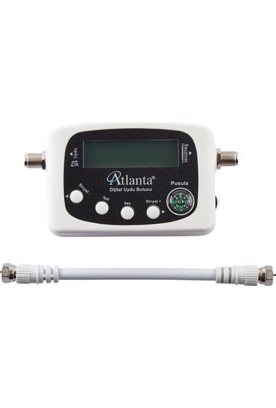Atlanta ATL-2030 Dijital Uydu Yön Bulucu + Test Ara Kablosu