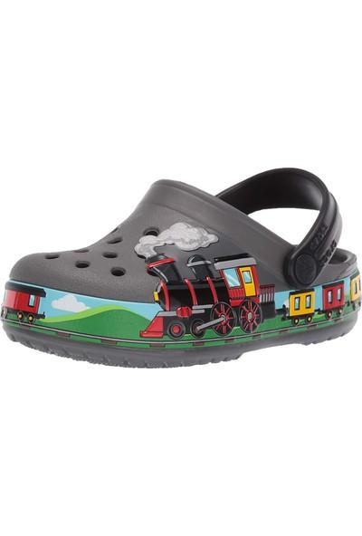 Crocs 205516-0Da fl Train Band Çocuk Bebek Sandalet Terlik