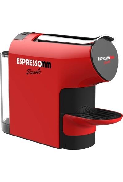 ESPRESSOMM Piccolo Kapsül Kahve Makinesi Kırmızı - Nespresso Uyumlu