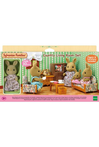 Sylvanian Families C Living Room Set