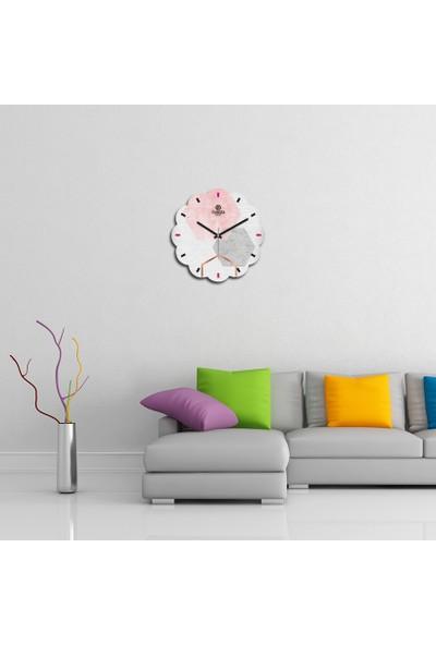 Artolex By Foresta Concept Papatya Dekoratif Mdf Tablo Duvar Saati FRB011