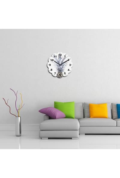 Artolex By Foresta Concept Papatya Dekoratif Mdf Tablo Duvar Saati FRB006