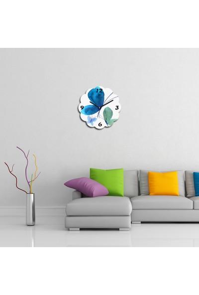 Artolex By Foresta Concept Papatya Dekoratif Mdf Tablo Duvar Saati FRB036