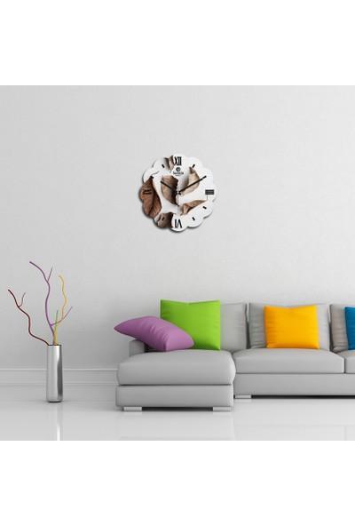 Artolex By Foresta Concept Papatya Dekoratif Mdf Tablo Duvar Saati FRB217