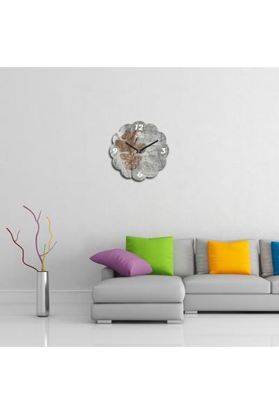 Artolex By Foresta Concept Papatya Dekoratif Mdf Tablo Duvar Saati FRB070