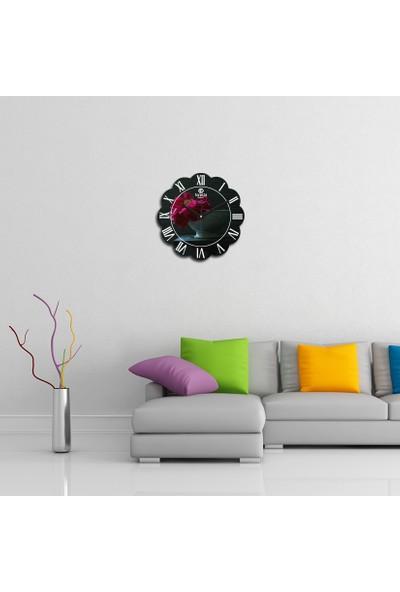 Artolex By Foresta Concept Papatya Dekoratif Mdf Tablo Duvar Saati FRB140