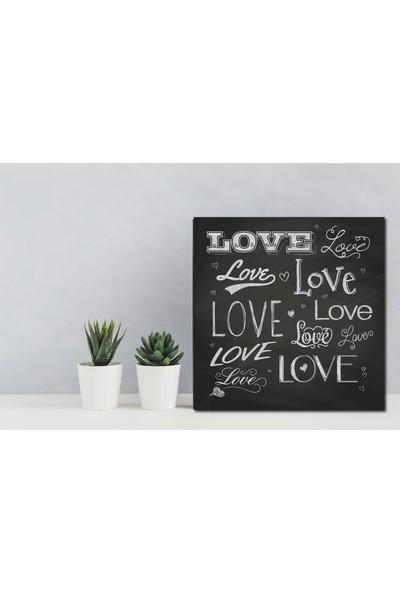 Yamamiya Dekoratif Love Yazılı Mdf Tablo