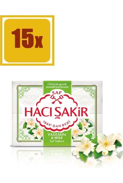 Hacı Şakir Kalıp Sabun Yasemin 4 Adet 600 gr 15'li Set