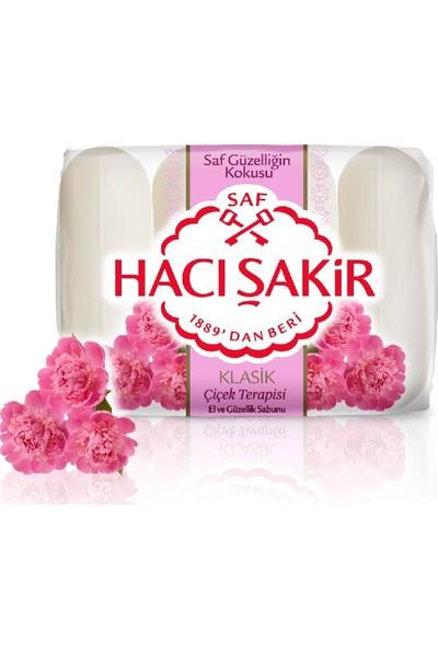 Hacı Şakir Güzellik Sabunu Klasik Çiçek Terapisi 4 x 70 gr 24'lü Set