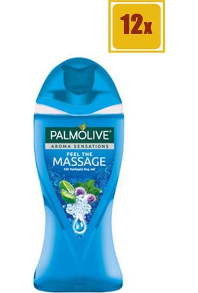 Palmolive Aroma Sensations Feel The Massage 250 ml Duş Jeli 12'li Set