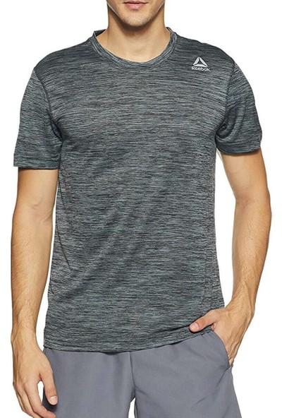 Reebok Wor Melange Tech To Dgrey Gri Erkek Kısa Kol T-Shirt