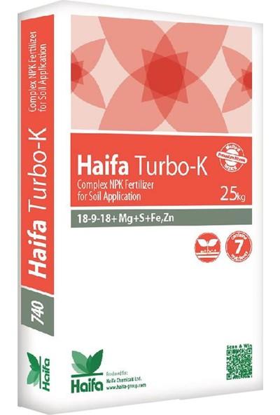 Haifa Turbo-K 18-9-18 - Yavaş Salınımlı NPK Gübre - 25 kg