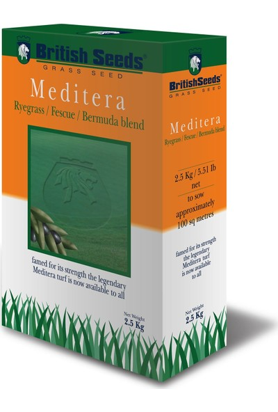 British Seeds Meditera (Ege-Akdeniz Çim Tohumu) 1 kg