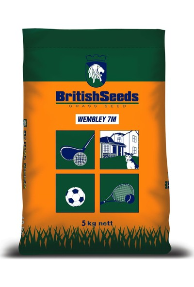 British Seeds, Meditera (Ege-Akdeniz Çim Tohumu) 5Kg