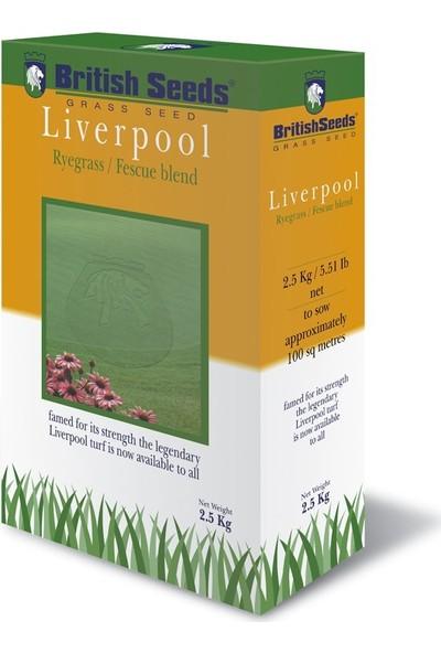 British Seeds Liverpool 7M (7'li Karışım Çim Tohumu) 2,5 kg