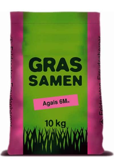 Grassamen, Agais 6M Çim Tohumu (6'lı Karışım Çim Tohumu) 10 Kg