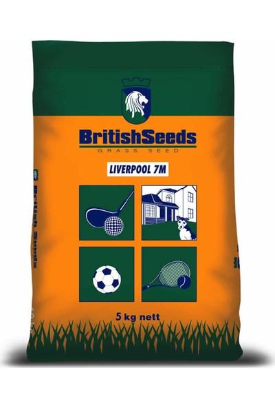 British Seeds Liverpool 7M (7'li Karışım Çim Tohumu) 5 kg