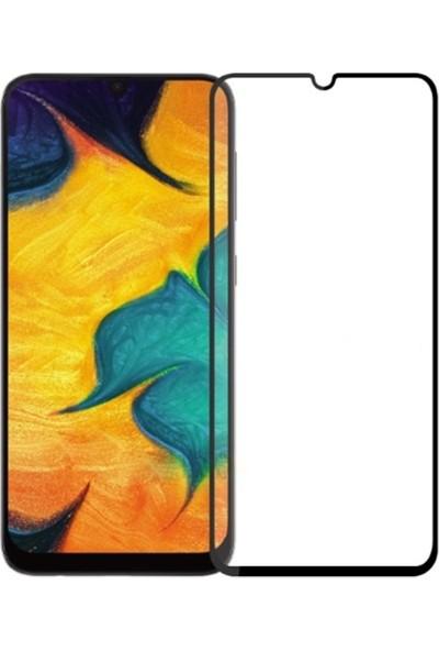 Ally Samsung Galaxy A40 3D Full Kaplama Cam Ekran Koruyucu Siyah