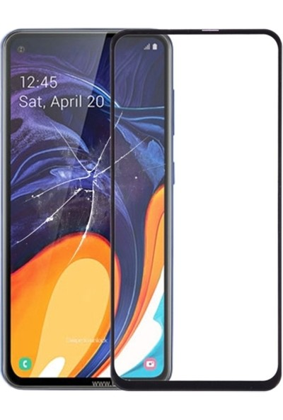 Ally Samsung Galaxy A60 3D Full Kaplama Cam Ekran Koruyucu Siyah