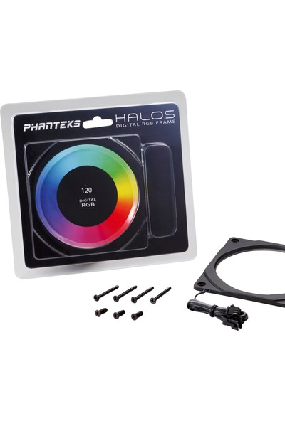Phanteks Halos Dijital Rgb Fan Çerçevesi - 120MM